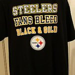 Pittsburgh #Steelers Mens XL #Steelers Fans Bleed Black and Gold Tee… https://t.co/V09CUiztyV #Collectible #Buzz https://t.co/TMuJxLPspY