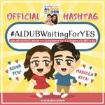 "🐥 #ALDUBWaitingForYES The LOLAs have given their sweet ""Go!"" MAINE may now heartily open up how she feels for ALDEN. https://t.co/qDQCUMcdfy"