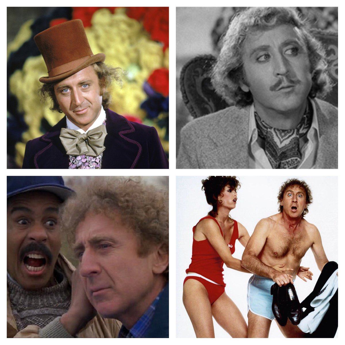 So sad to hear about Gene Wilder. One of my Heroes. Comedic wizard! RIP https://t.co/IDZsC6V7Hs