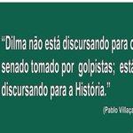 Dilma discursa para a História e não para os senadores golpistas https://t.co/wSmCMkLrrc