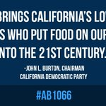 Congratulations to @Rendon63rd and @AssemblyDems on passage of #AB1066 for overtime fairness https://t.co/1md9CuUAQT https://t.co/UzP6dYzgeC