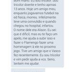 MELHOR HORA PARA TODOS SE UNIRMOS POR UMA BOA CAUSA, #AjudaFlamengo #AjudaFlamengo @Flamengo @smfgustavo 🔴⚫🔴⚫ https://t.co/3fxI3GcDqW