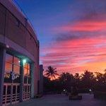 Tonights sunset 🌅 outside the Stan Sheriff Center! #HawaiiAthletics https://t.co/QoXOy4oqYO