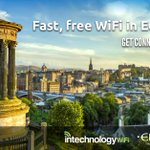 On its way #edifreewifi #Edinburgh with free WiFi. Thanks @intechWiFi for rolling this out as fast as you can! https://t.co/U91bvRIgfw
