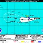 5A: Cat 3 Madeline 445mi E of Hilo, moving W 10mph w/ 120mph max sustained winds. INFO: https://t.co/xVYfmE4F0I https://t.co/NdWFgdktiG