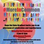 FAB family event this Sat in #Bradford #music #food #MoreInCommon @BradfordCollege @AndyWelshBC @briantheroomie https://t.co/jBemB43a2Q