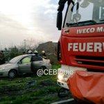 Talcahuano, 1 persona lesionada en vehículo volcado al ingreso de Marina del Sol. ABC en el lugar. #cat8 ^196 https://t.co/JWXVw3GsZx