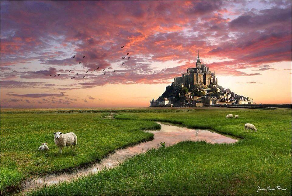 Mont Saint-Michel, #France | Photography by ©JMP https://t.co/eWYDbwRuVG