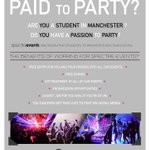 It might be #DeadlineDay but we are still recruiting! @SpectreEvents DM for more info! #Manchester #Students https://t.co/fvRVQXeHWN