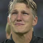 Bastian Schweinsteiger couldnt hold the tears back in his last game for Germany. Hero. https://t.co/RZcUhp8qb4