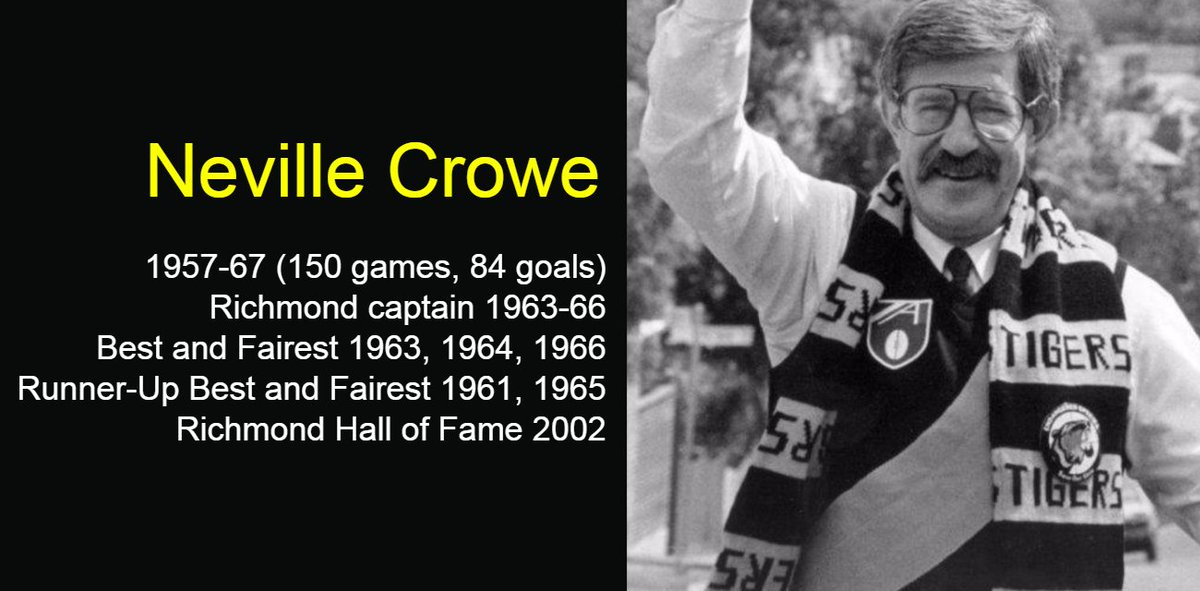 RIP Neville Crowe The figurehead of Richmond's SAVE OUR SKINS. He saved our club.   He. Saved. Our. Club. https://t.co/TPzyX1na0I
