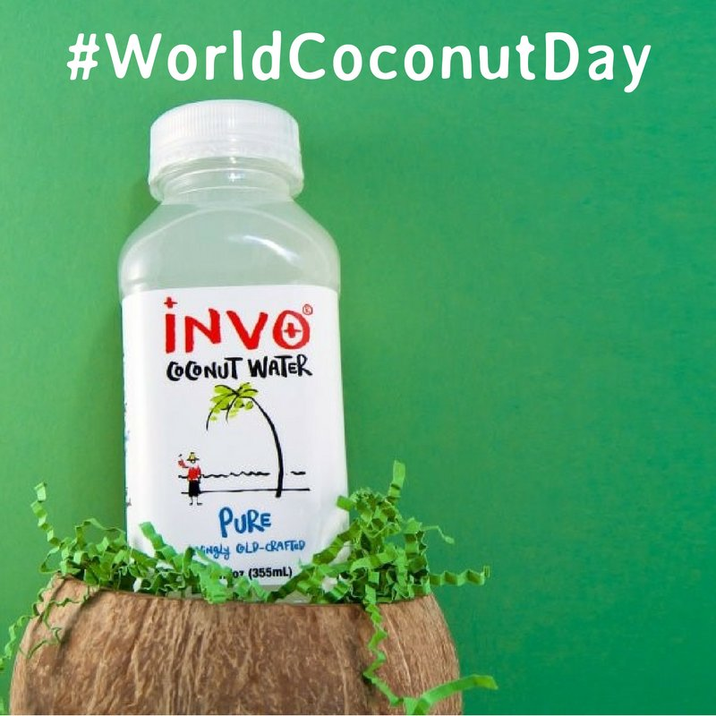 Happy #WorldCoconutDay! #Win a @InvoUK coconut water bundle by telling us why you need coconut water in your world! https://t.co/sS0o4bwMo1