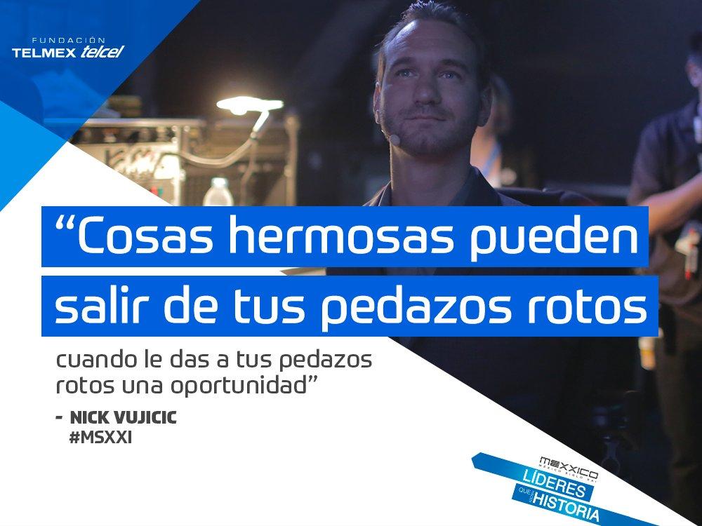 """""""Tenemos la elección, estar enojados por lo que no tenemos o estar agradecidos por lo que sí"""". @nickvujicic #MSXXI https://t.co/gSiNvikxdE"""