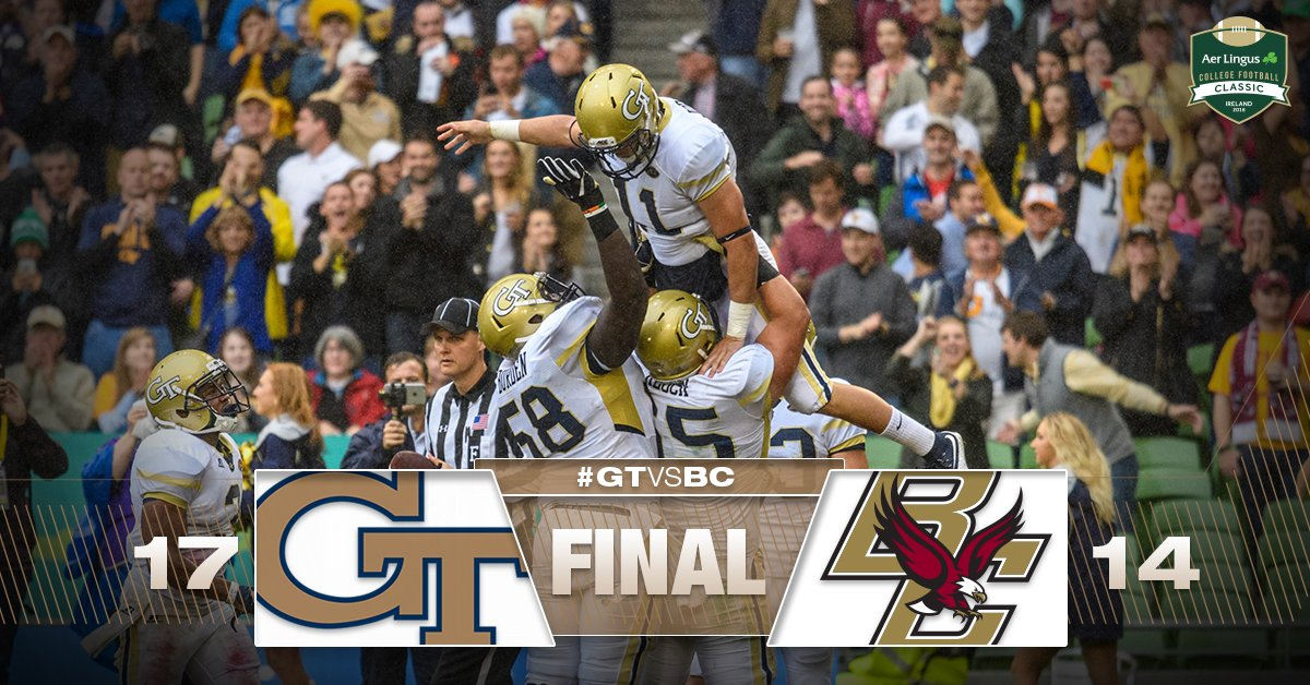 JACKETS WIN IN IRELAND! 1-0! #TogetherWeSwarm #GTvsBC https://t.co/wFP8QMZAqr