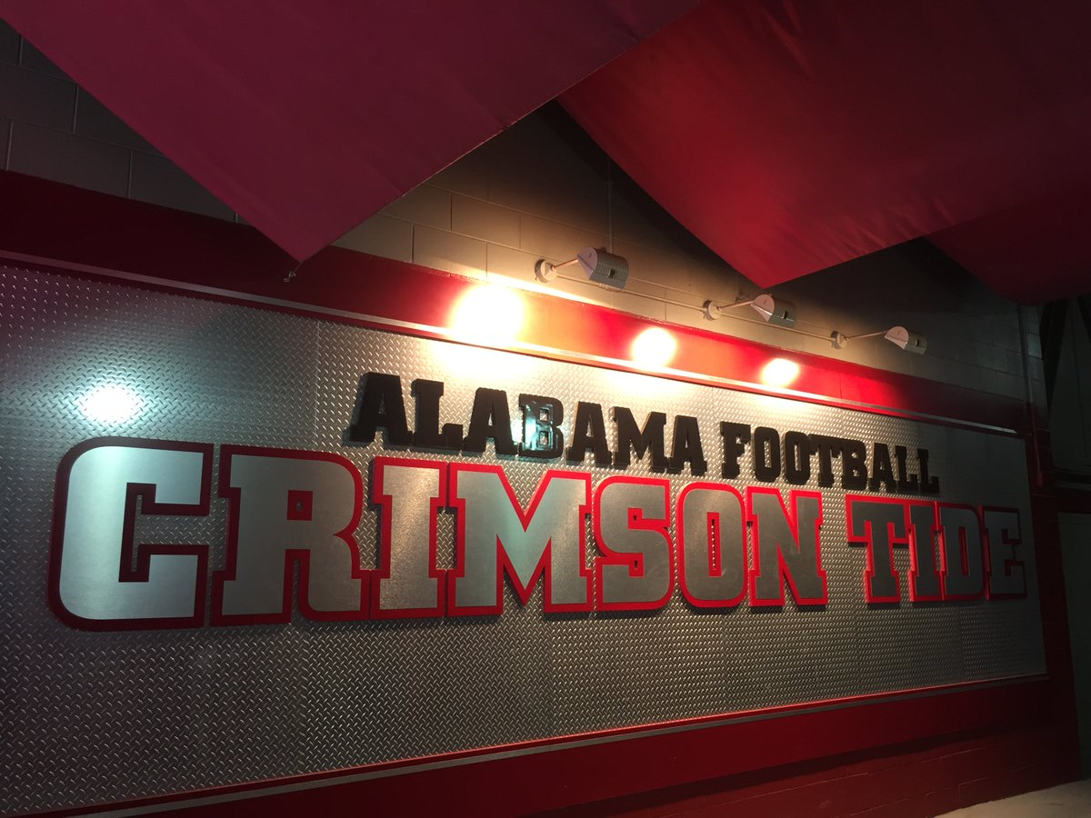 GAME DAY! We'll be cheering on our #CrimsonTide tonight during #USCvsBama. Will YOU be watching?! #RollTide