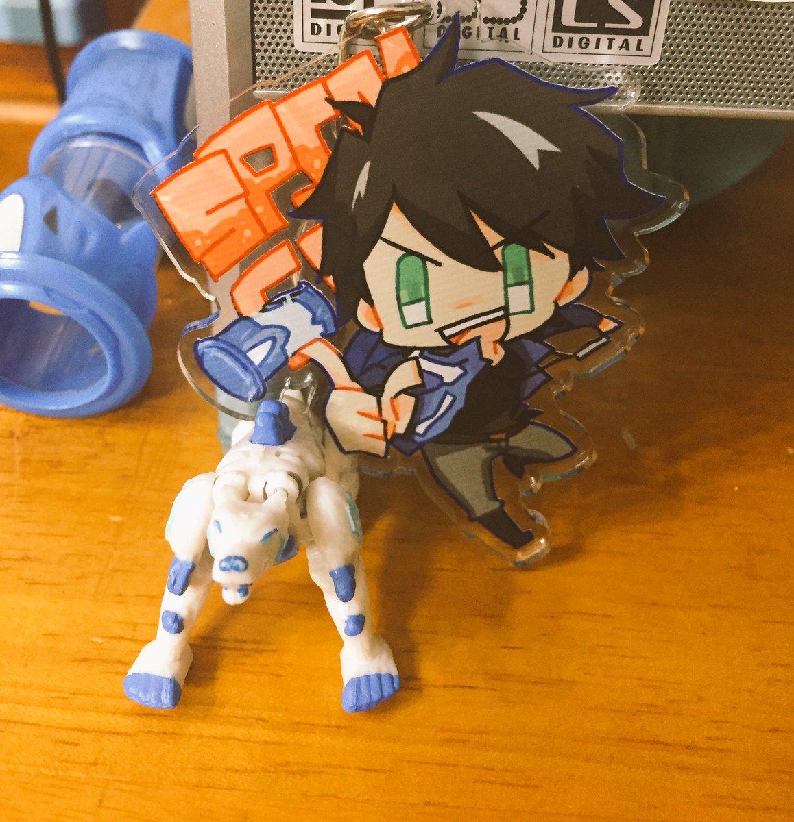 自分で作ったアクキーと遊べるモンスーノは最高の玩具