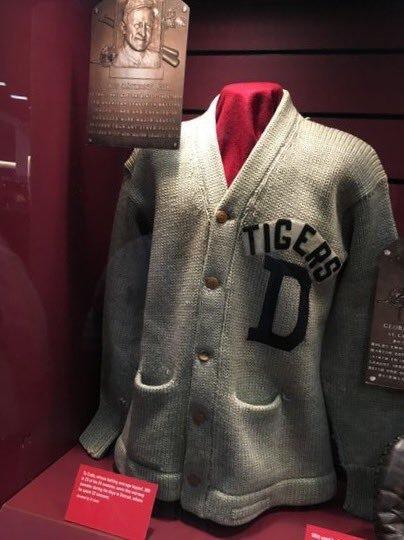 New blog post is up!  The Hall of Fame Knitter: Work-in-Progress: Ty Cobb Sweater https://t.co/L4ptr8Gd6k https://t.co/IMyO6UUnem