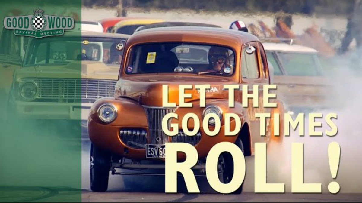 #GoodwoodRevival 2016 is upon us! Flat out, wheel to wheel, Pre-'66 Motorsport. Here's a trailer of what to expect! https://t.co/wQPkxOa67R