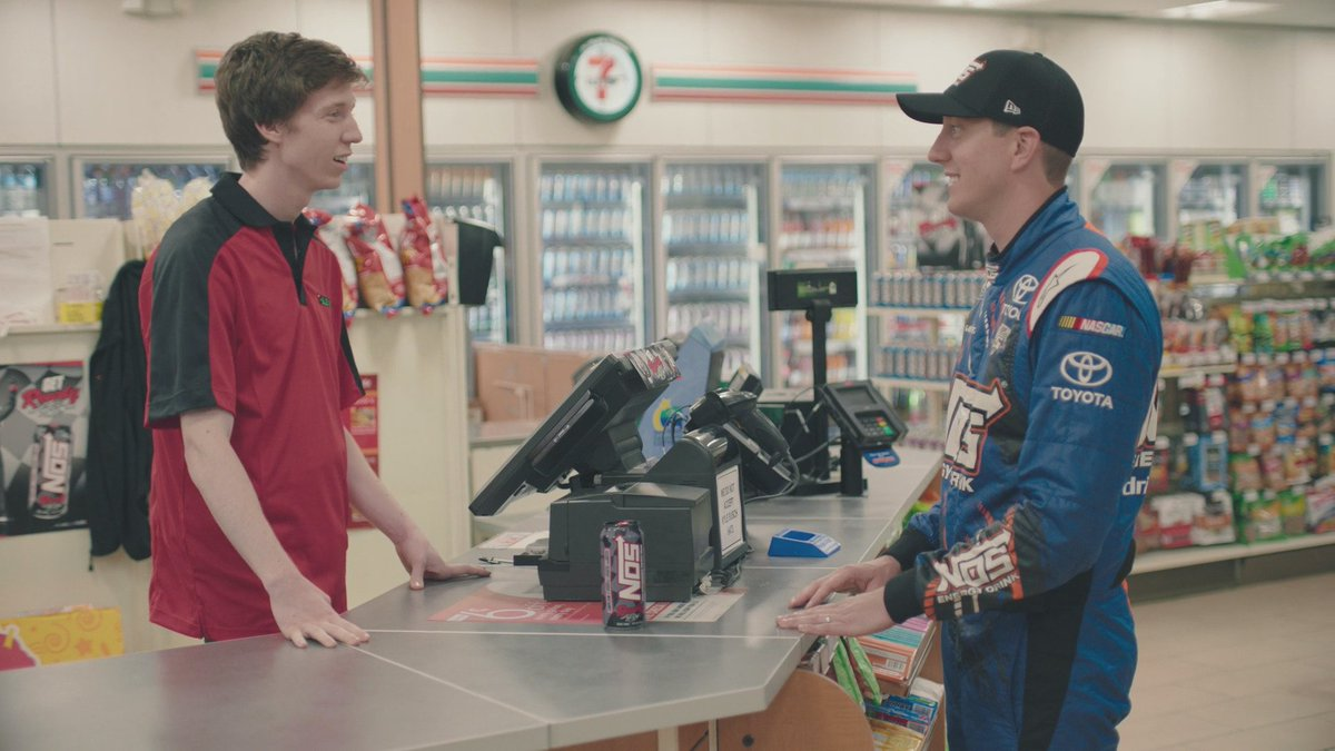 Introducing the new #NOSRowdy No matter how you pay, pick one up today exclusively at @7eleven! #LiveNOS @kylebusch https://t.co/9eqahpZ0t9