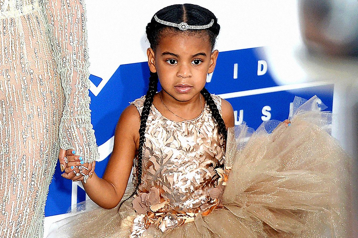 Bell Bottomed Blue Ivy Takes The Cake At Beyoncs Soul Train Themed