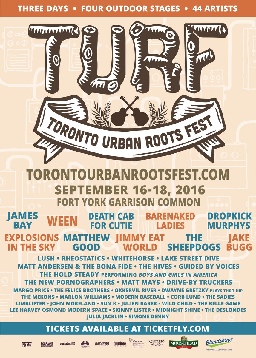 Want to see @JimmyEatWorld, @WildChildSounds + more at @TURFTO? FOLLOW + RT for a chance to win DAY 3 passes! https://t.co/midzGYllrH