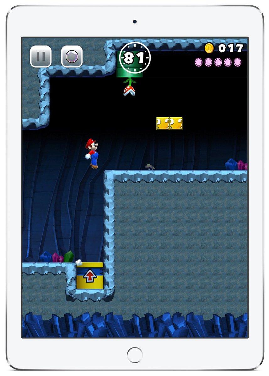 Em português, Super Mario Run chega em dezembro a celulares e tablets da Apple! https://t.co/UsZ9Ny1fdF https://t.co/bNztYzD6id