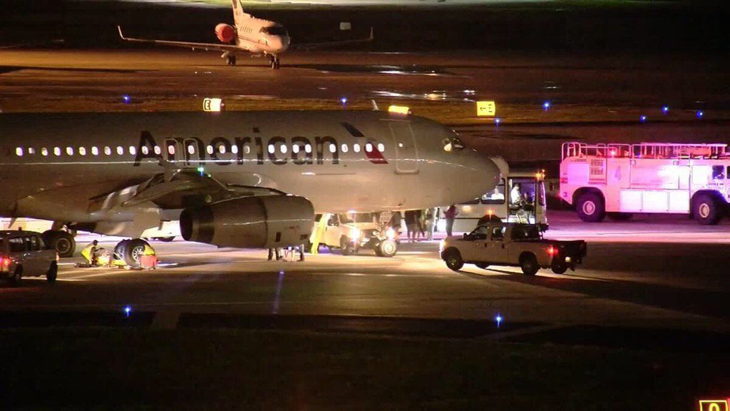AA Flight Makes Frightening Landing in Tampa, Passengers Say