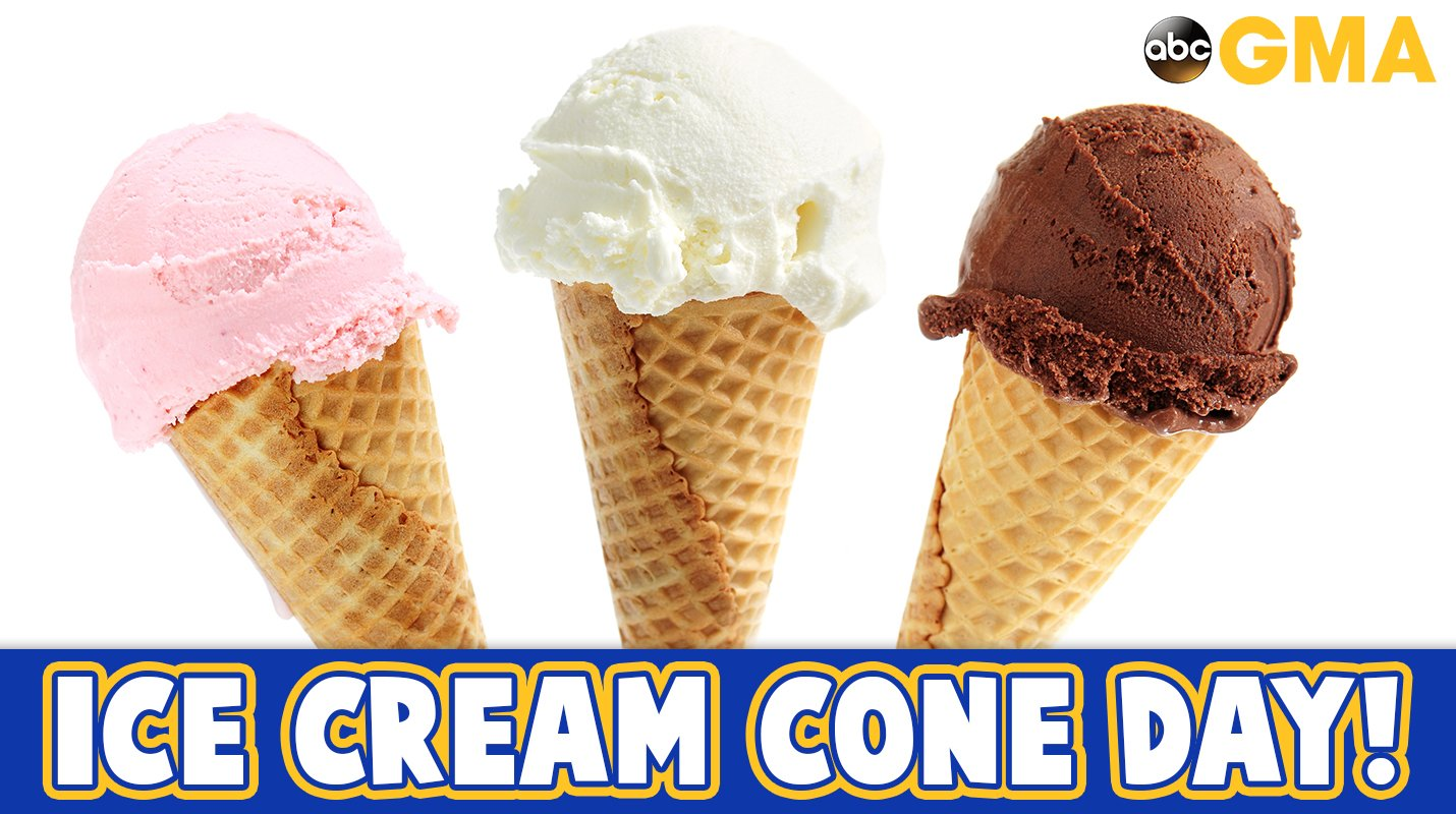 Happy #NationalIceCreamConeDay! �� https://t.co/mGi4Hr74LI