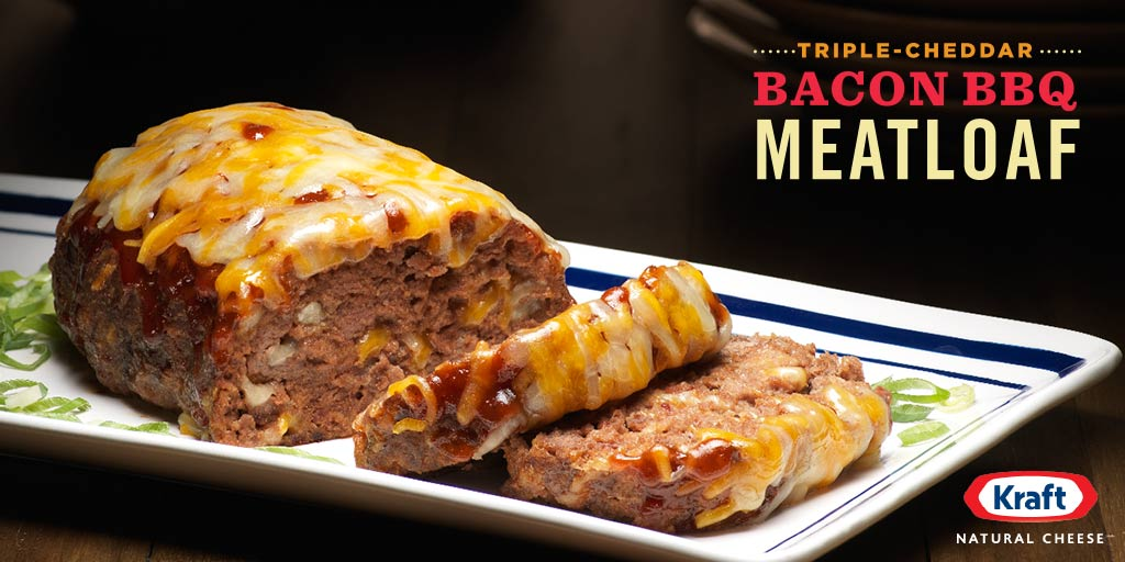 How to make your family love you forever: make this #beefy #cheesy #bacon meatloaf
