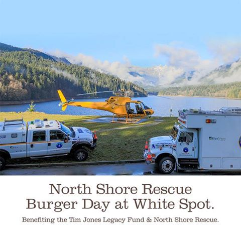 Today we're donating $1 from every burger entrée sold at our North Shore locations to @NSRescue & @tjlegacyfund https://t.co/Y8wg2EnHUR