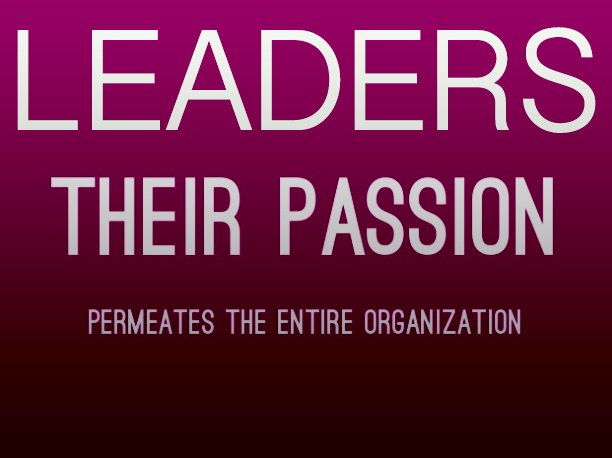 #leaders: their passion permeates the organization. #leadership @phmcgillicuddy https://t.co/8GzGZZd3YV