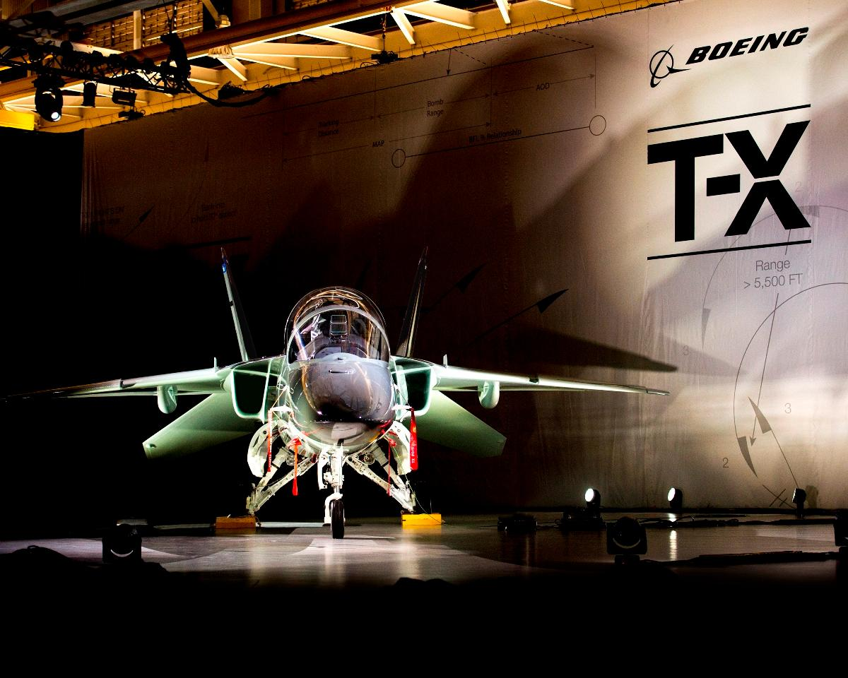 Purpose-built for the #USAF training mission and designed to evolve for future generations #NewBoeingTX #Boeing https://t.co/WTC4R1CHBs