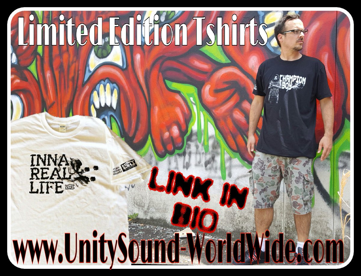Link in bio.. gettem while they last!! #innareallife #championboy #unitysound https://t.co/Qx1S0qEHb6