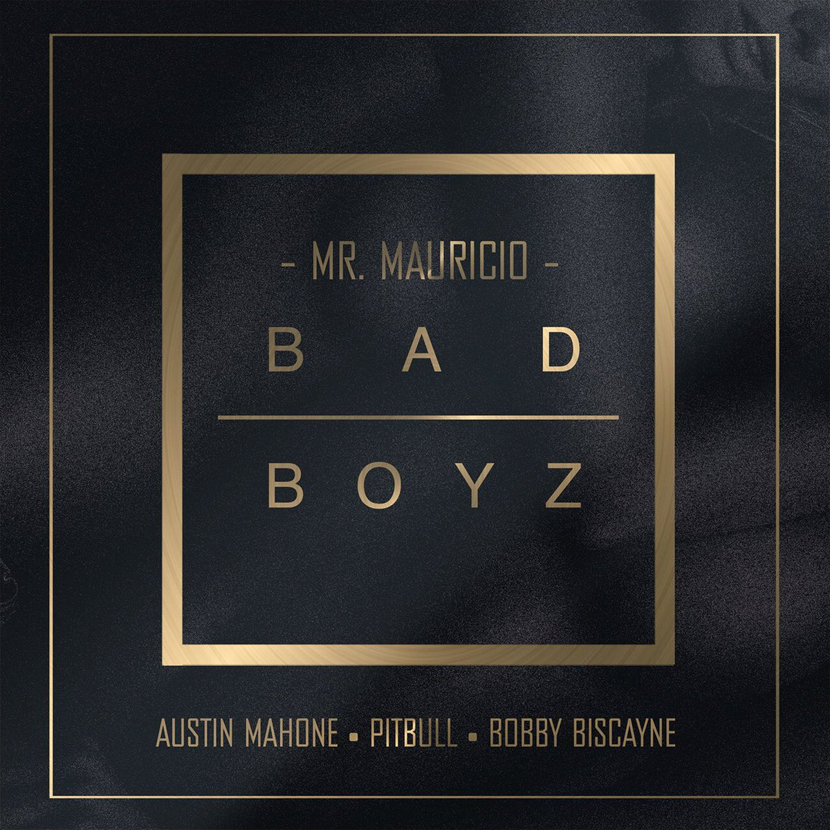 What the world been waiting for ... @pitbull @AustinMahone @BobbyBiscayne #BadBoyz https://t.co/Rf3QuGYR8c
