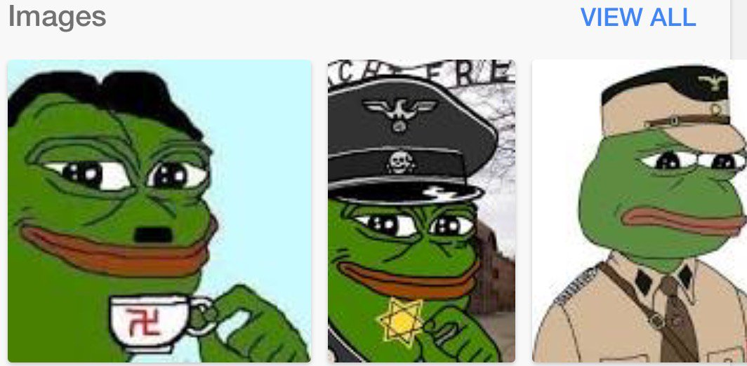 S PEPE NAZI FROGTrump BrownshirtsOr ALT RIGHTS