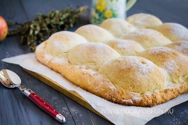 Тесто на твороге для пирога с яблоками рецепт с пошагово в духовке