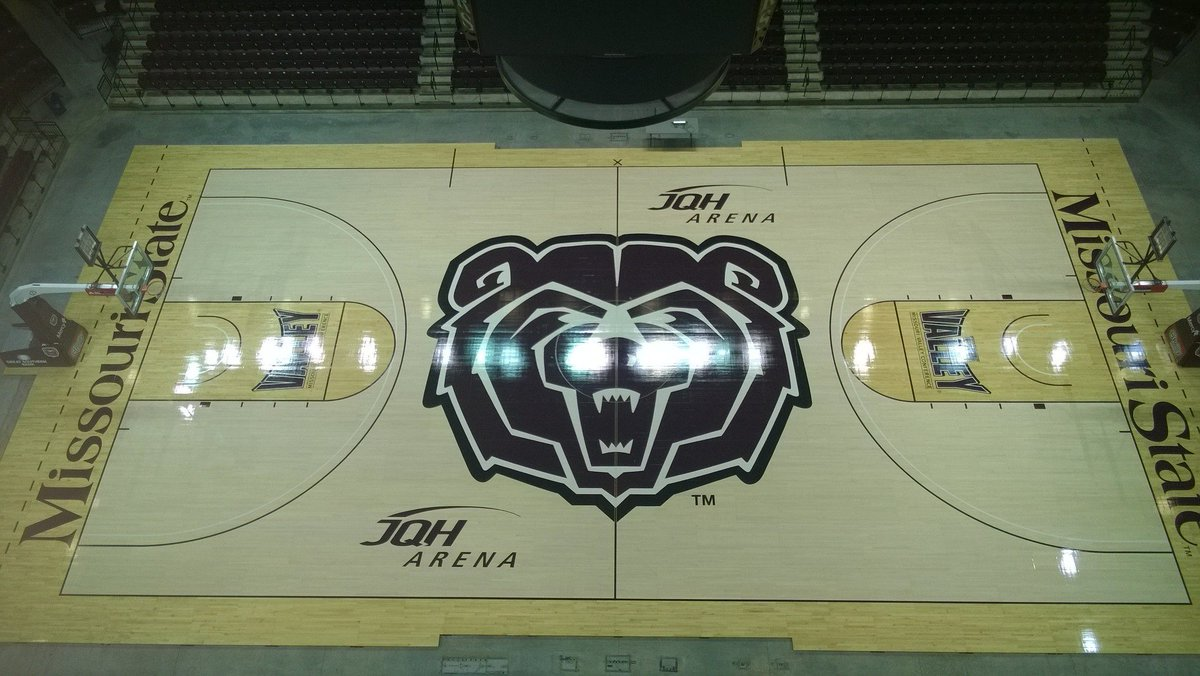 The new floor at JQH Arena is now here and ready for some #MSUBears basketball!  Gallery: https://t.co/FqXg6EsCPL https://t.co/DqBECGqNmT