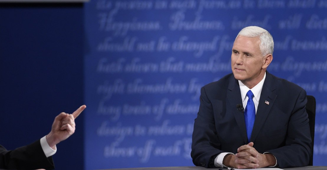 If politicians are measured by their honesty, Pence destroyed his reputation tonight. https://t.co/ZBJM7ljEWV https://t.co/Vx12RmeSLe