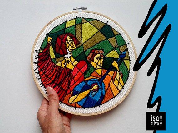 Há #bordado novo no meu cantinho :-) #fado #Embroidery Hoop Art https://t.co/nezL3brvOg #Etsy #EsteGostoMuito https://t.co/Y5cMPHwyQB