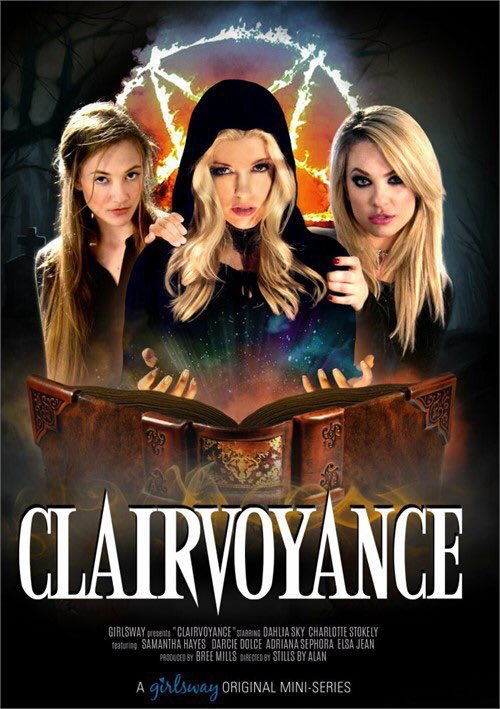 Just in time for spooky season! #clairvoyance #girlsway #charlottestokely #xxx sYV7O7SI