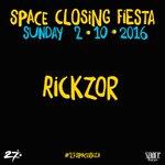🌓 @Rickzor1 🌓 #SpaceClosingFiesta https://t.co/KF8F60ytbS  #27SpaceIbiza #Ibiza2016 https://t.co/TZWCT9MfNA