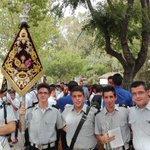 Representación de nuestra formación en @jornadaRosario #IIIJornadasPuertasAbiertasRosarioLinares https://t.co/LTPMnYb3rX