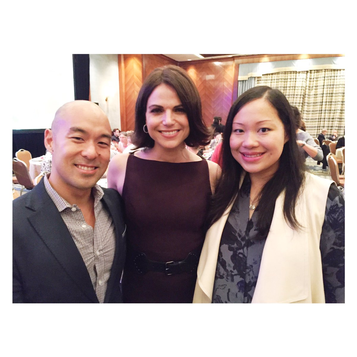 Great to meet @LanaParrilla at #CelebrityDimSum at @FSVancouver for @AIDSVancouver.