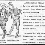Anglo-Saxon Bread: ar gael o #Llandaf yn 1901. (Efallai y bydd pawb yn ei fwyta cyn hir.) https://t.co/6N6BsxIAqT https://t.co/Vbb86gjUSs