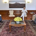 PM Shri @narendramodi chairing the meeting on Indus Water Treaty, in New Delhi https://t.co/DnrFjzLEWO