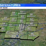 A look at current temperatures across the Miami Valley. Check the latest forecast at https://t.co/UmLMKq4bHP https://t.co/eIli1NxZko