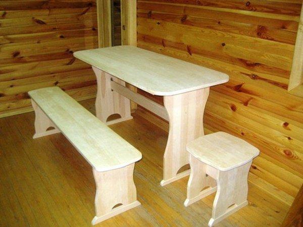 Как  сделать мебель для бани