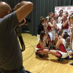 WBB: Photo shoot with @UNB_Basketball. Basketball and bling. #IamVRed https://t.co/AnCUwZTdm0