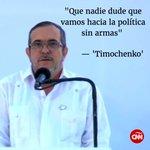 Mira lo más destacado del discurso de Timochenko: https://t.co/CjVe9IU1LB #PazenColombia https://t.co/bbOkSqyfkw