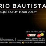 @mariobautista_ #AquíEstoyTour2016 en Chihuahua el 6 de Noviembre en el Salón Renasci. #MBEnChihuahua @MBChihuahua https://t.co/8MfGsgjg7F